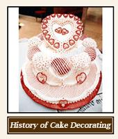 History of Cake Decorating