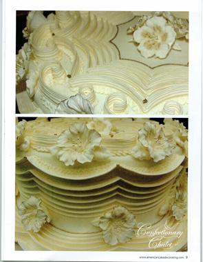 Dec 2012 ICES Petunia Student Cake