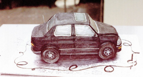 Lexus Car Buttercream 1996