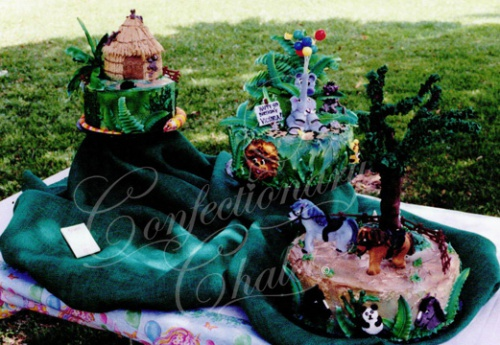 Animals Galore Cake 1996