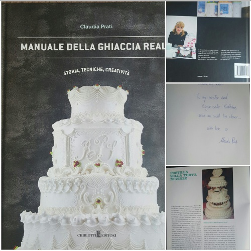 Kathleen's Featured in Claudia Prati's Italian Royal Icing Book - July 2015