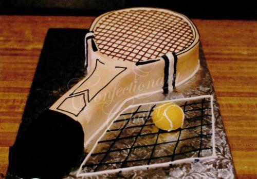 Tennis Racket Cake 1995