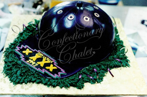 Baseball Cap Cake 1996